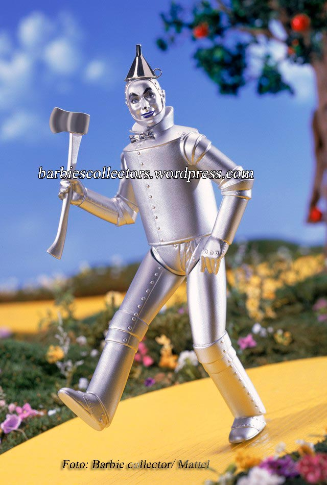 The Wizard of Oz™ Tin Man Porcelain #4- Ano: 2001