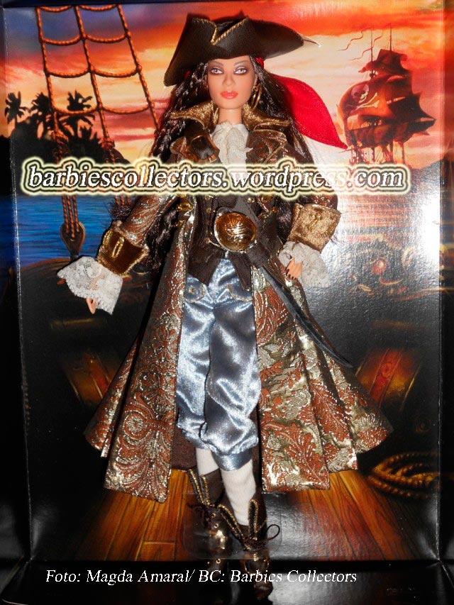 The pirate/Divulgação de Magda Amaral/BC: Barbies Collectors