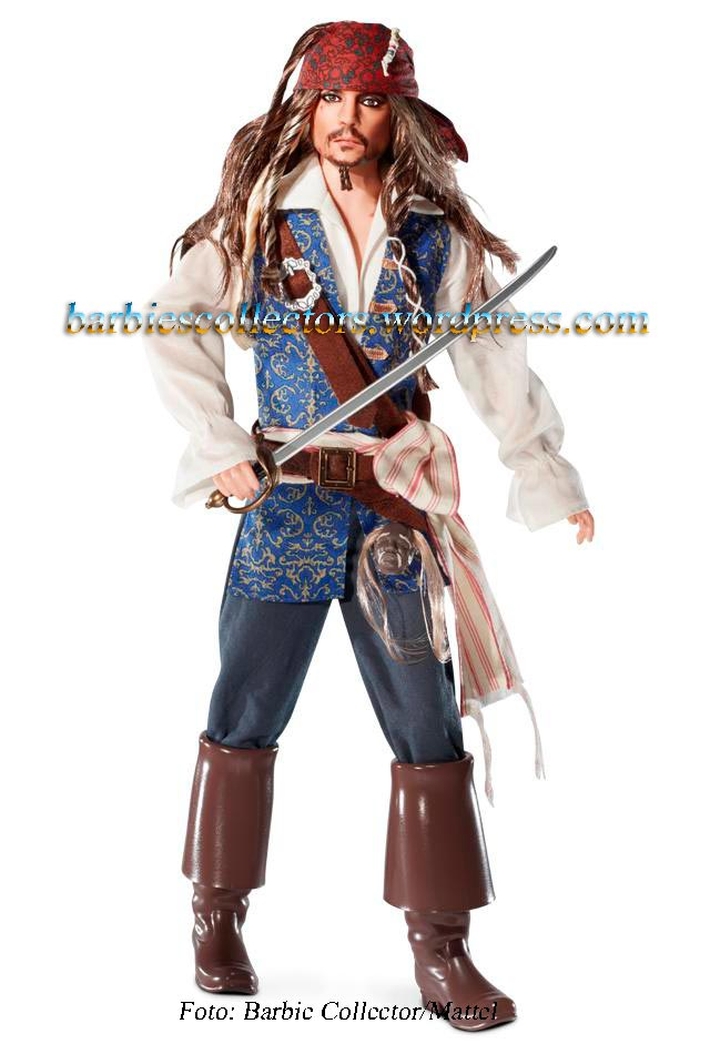 Ken Captain Jack Sparrow